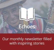Our monthly newsletter filled with inspiring stories